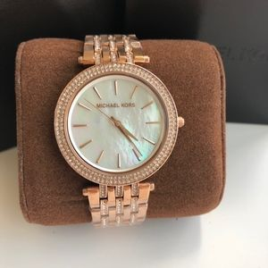 BRAND NEW Michael Kors Rose Gold Watch MK3220